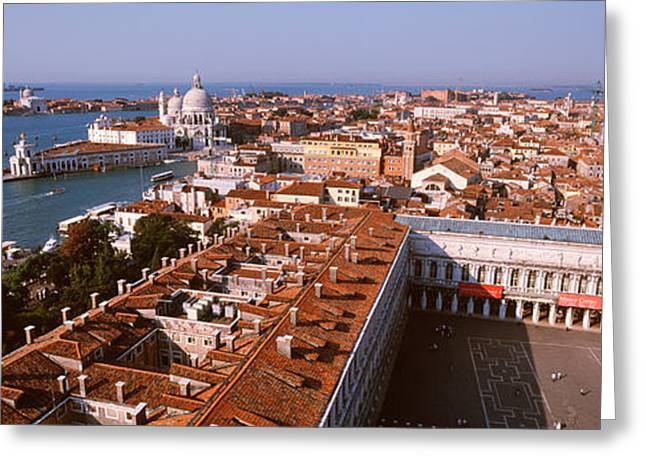 Venice, Italy Greeting Card by Panoramic Images