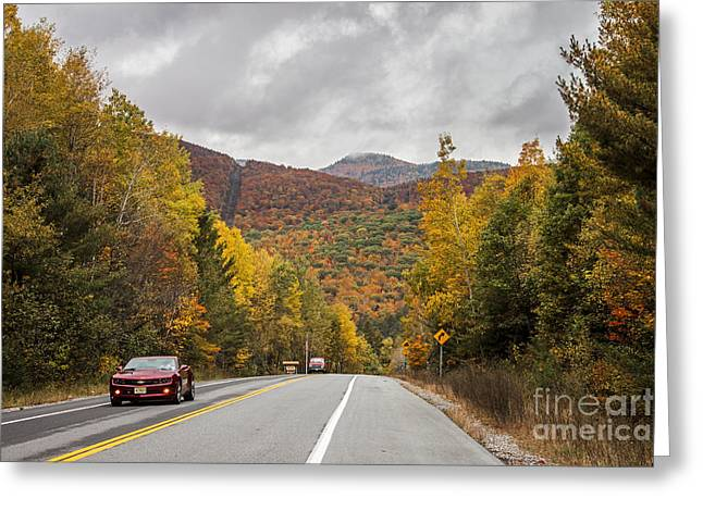 Vermont Fall Greeting Card