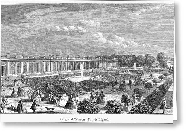 Versailles Grand Trianon Greeting Card by Granger