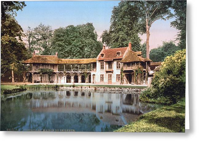 Versailles Petit Trianon Greeting Card by Granger