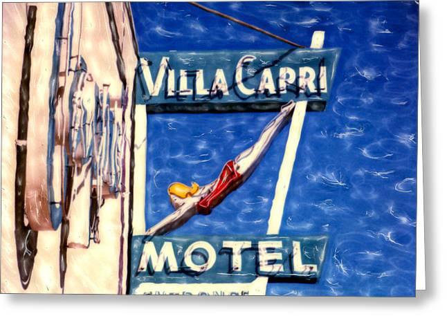 Villa Capri Greeting Card