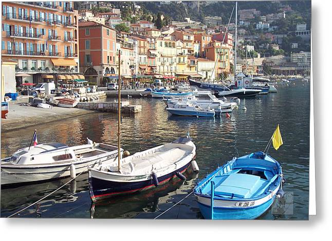 Villefranche-sur-mer    Greeting Card by David Nichols