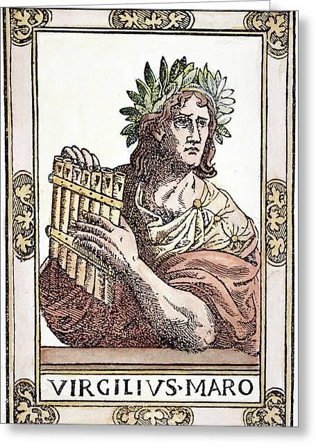 Virgil (70-19 B Greeting Card by Granger