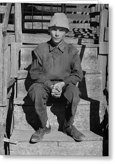 Virginia Boy, 1935 Greeting Card by Granger