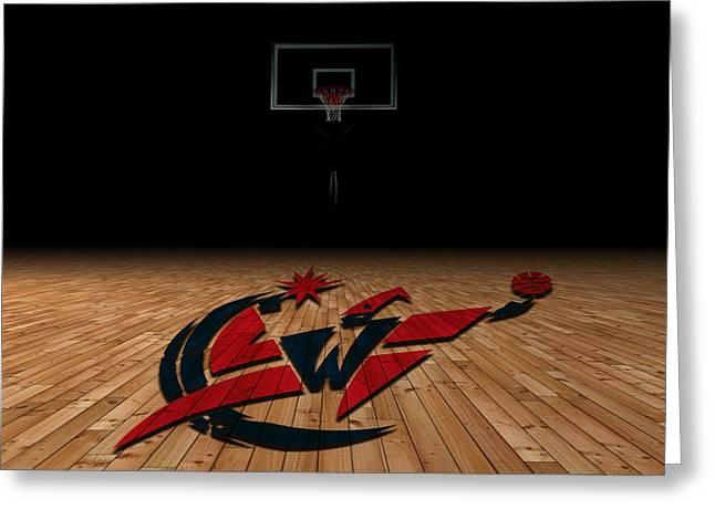 Washington Wizards Greeting Card by Joe Hamilton