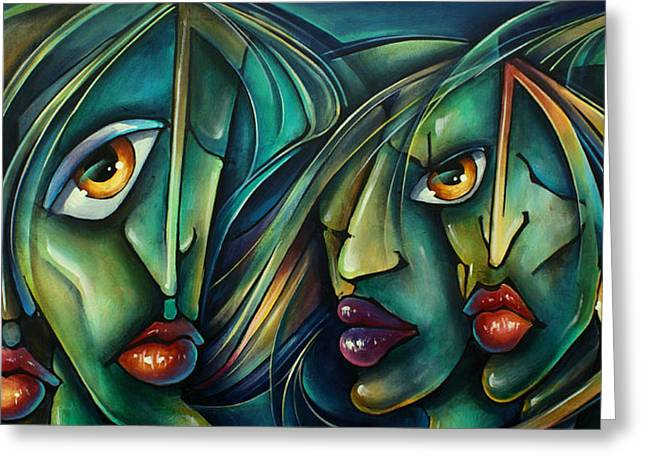 Watch Greeting Card by Michael Lang