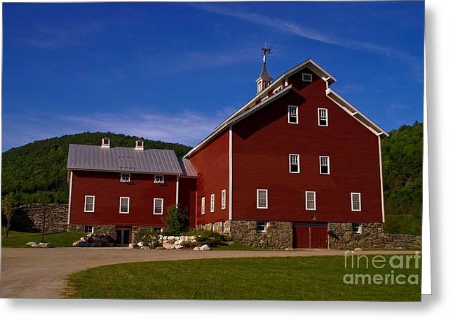 West Monitor Barn. Greeting Card
