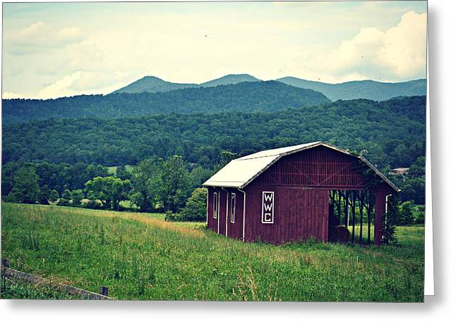 Western North Carolina Farm Greeting Card