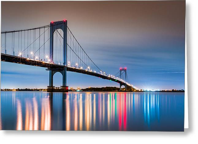 Whitestone Bridge Greeting Card