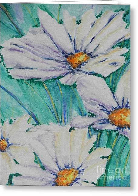 Wild Daisys Greeting Card