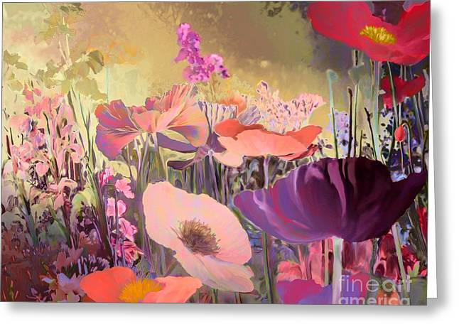 Wild Garden Greeting Card