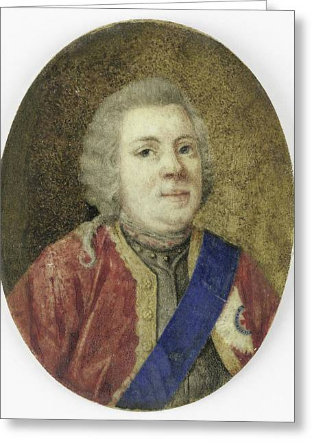 Willem Iv, 1711-51, Prince Of Orange-nassau Greeting Card