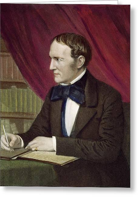 William Hickling Prescott (1796-1859) Greeting Card by Granger