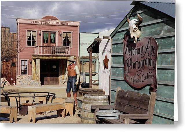 Williams, Arizona, United States Greeting Card by Julien Mcroberts
