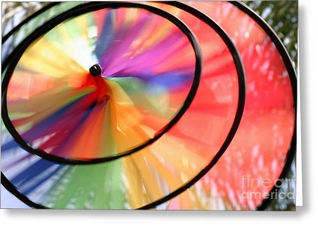 Greeting Card featuring the photograph Wind Wheel by Henrik Lehnerer