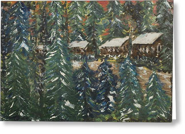 Winter Has Come To Door County. Greeting Card by Andrew J Andropolis
