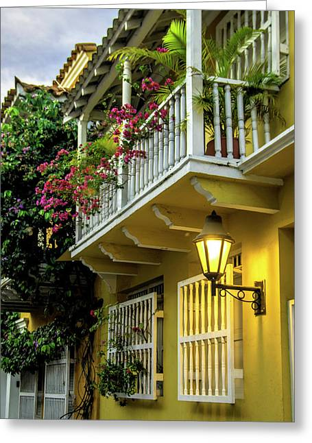 Wonderful Spanish Colonial Architecture Greeting Card