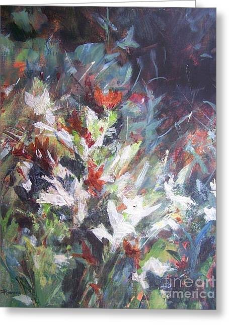 Woodland Bouquet Greeting Card by Mary Lynne Powers