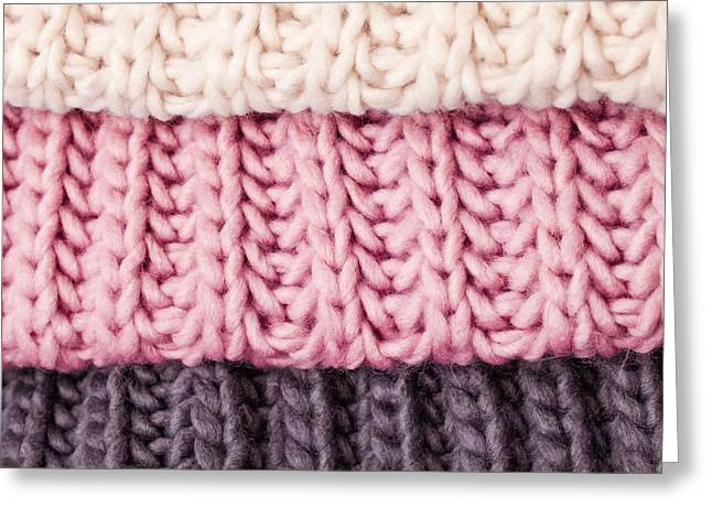 Wool Colours Greeting Card