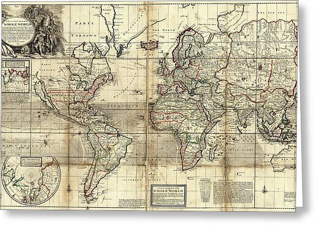 People of the earth greeting cards fine art america world map greeting card m4hsunfo