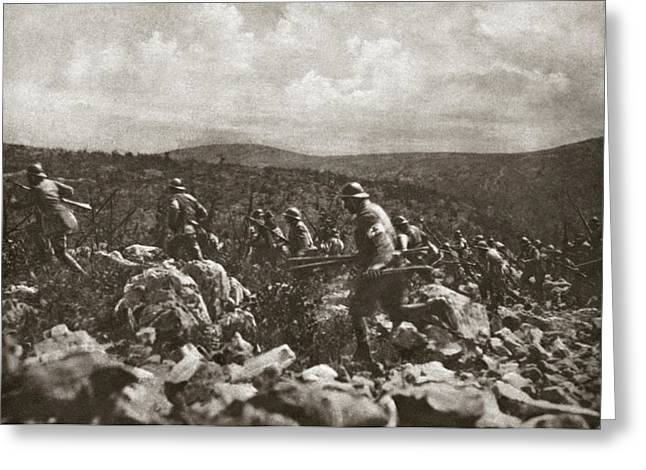 World War I Italian Front Greeting Card by Granger