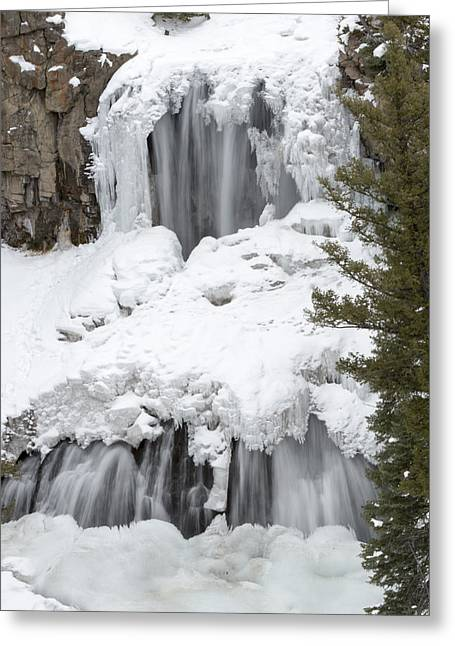 Yellowstone Falls Greeting Card