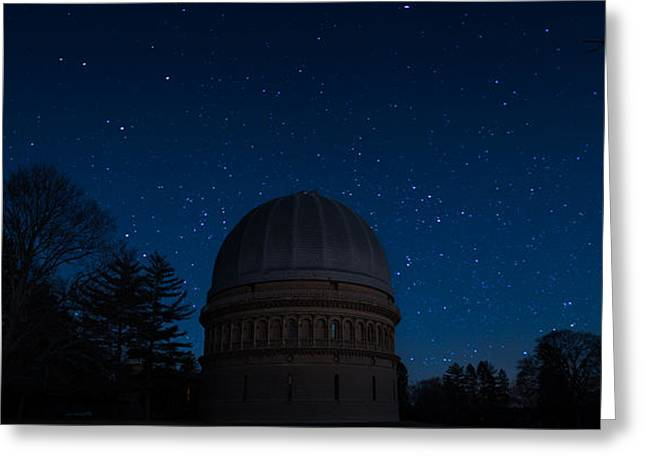 Yerkes Observatory Wisconsin Greeting Card by Steve Gadomski