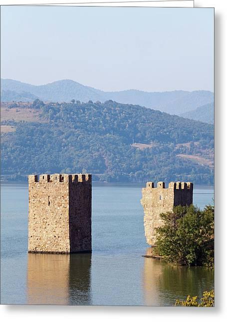 Iron Gate, Portile De Fier, Gorge Greeting Card by Martin Zwick