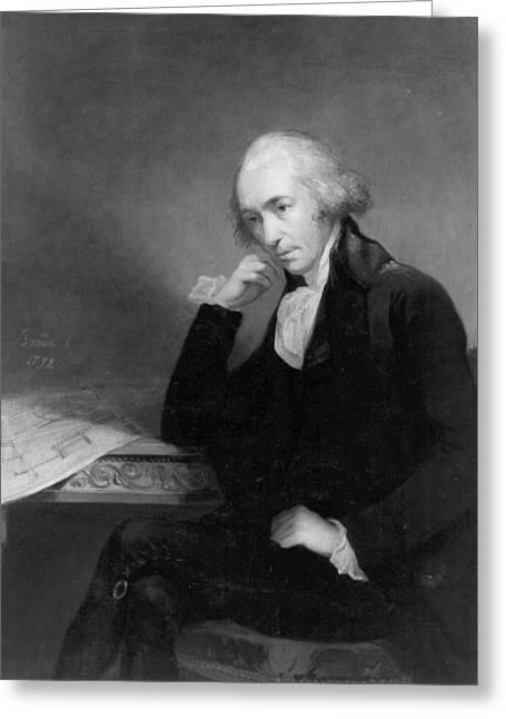 James Watt (1736-1819) Greeting Card
