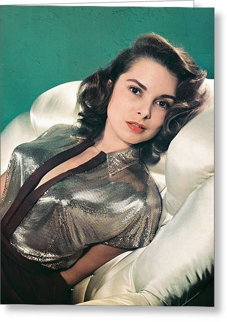 Janet Leigh Greeting Card by Silver Screen