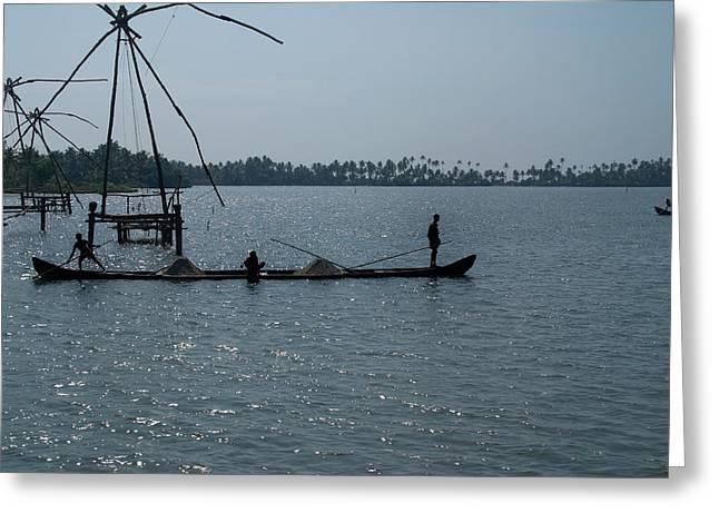 Kerala Backwater Greeting Card