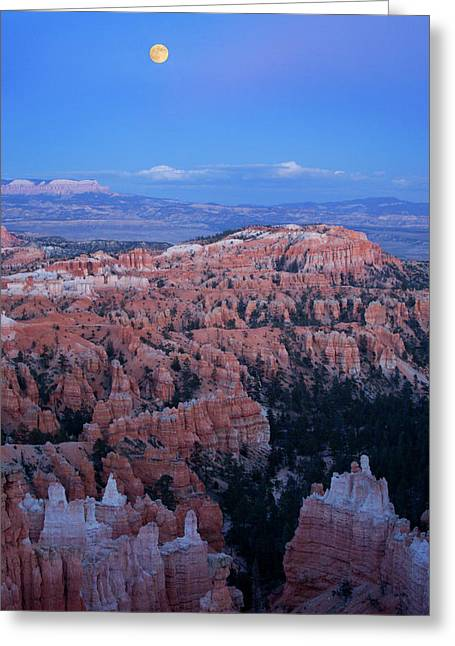 Usa, Utah, Bryce Canyon National Park Greeting Card by Jaynes Gallery