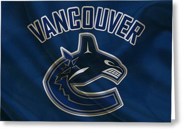 Vancouver Canucks Greeting Card by Joe Hamilton