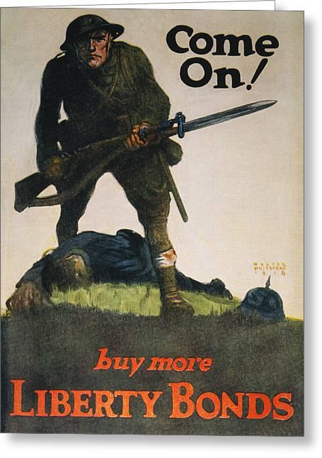 World War I U Greeting Card