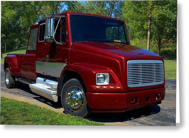 2002 Freightliner Fl60 Custom Pickup Photograph By Tim