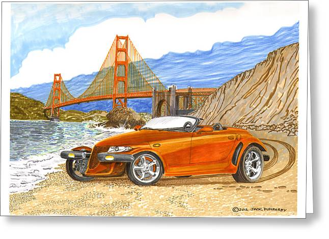 2002 Plymouth Prowler Greeting Card by Jack Pumphrey