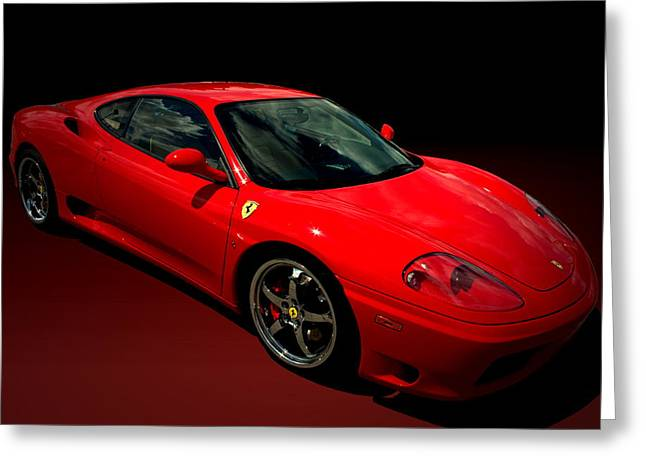 2004 Ferrari 360 Modena Greeting Card
