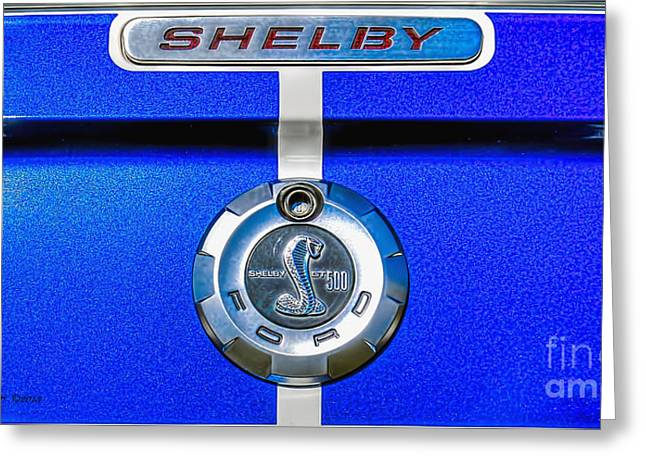Greeting Card featuring the photograph 2006 Shelby Mustang Gt by Trey Foerster