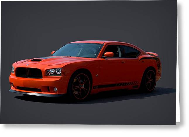 2009 Dodge Srt8 Super Bee Greeting Card by Tim McCullough