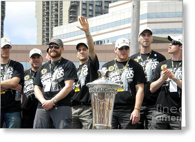 2011 Stanley Cup Champs Greeting Card