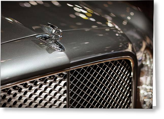 2012 Bentley Mulsanne Greeting Card by Gordon Dean II