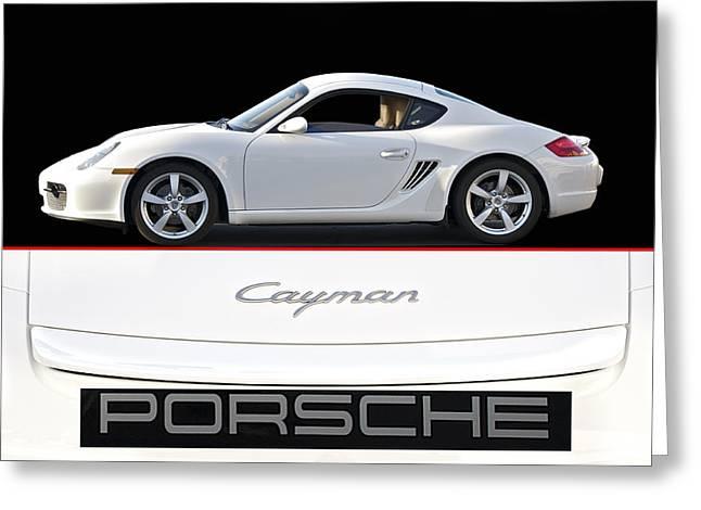 2012 Porsche Cayman R Greeting Card by Dave Koontz