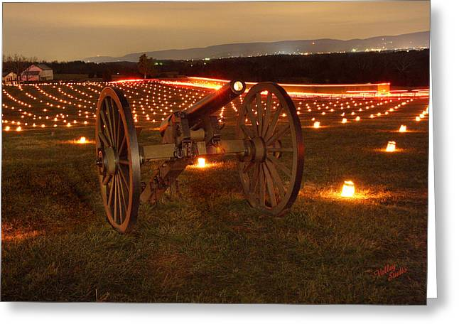 Greeting Card featuring the photograph 2013 Antietam Cannon by Judi Quelland