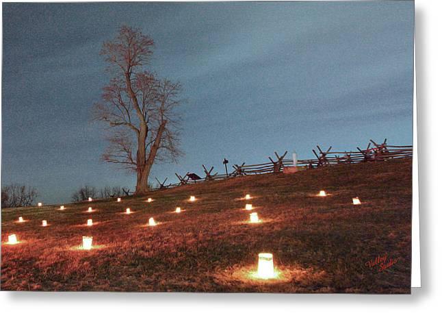 Greeting Card featuring the photograph 2013 Antietam Near Bloody Lane by Judi Quelland