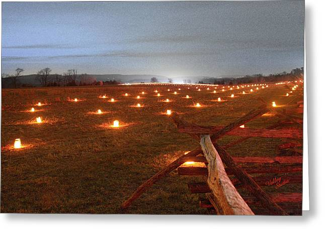 Greeting Card featuring the photograph 2013 Antietam Near The Cornfield by Judi Quelland