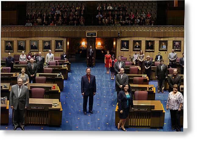 2013 Arizona Senate Portrait Greeting Card