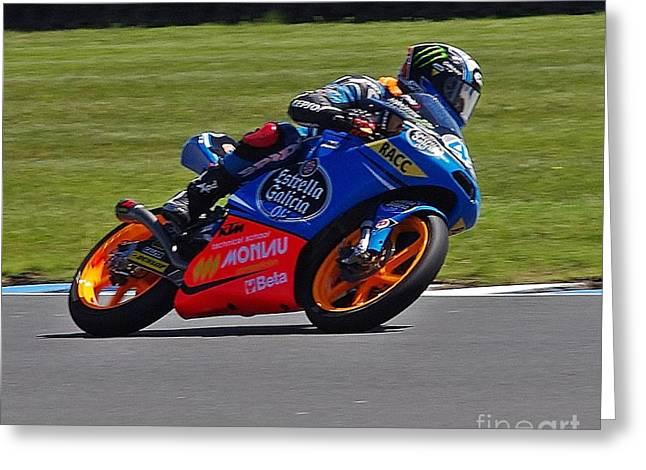 2013 Australian Moto Grand Prix Greeting Card