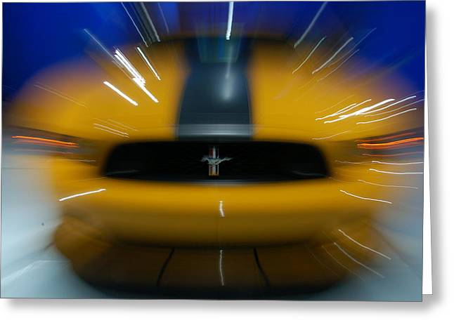 2013 Ford Mustang Greeting Card