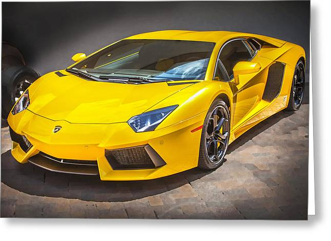 2013 Lamborghini Adventador Lp 700 4 Greeting Card by Rich Franco