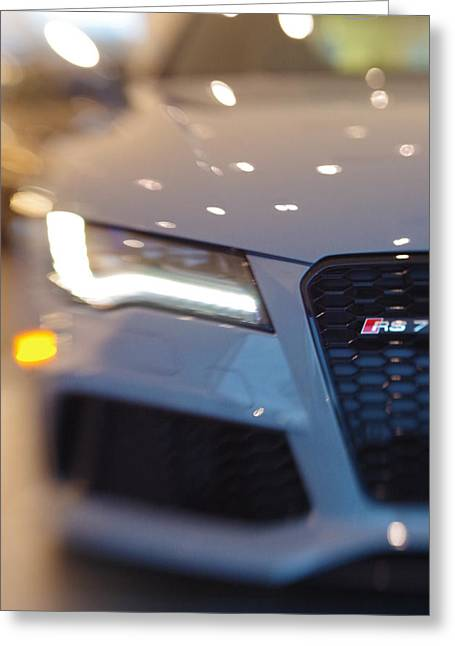 2014 Audi Rs7 Nardo Grey Greeting Card